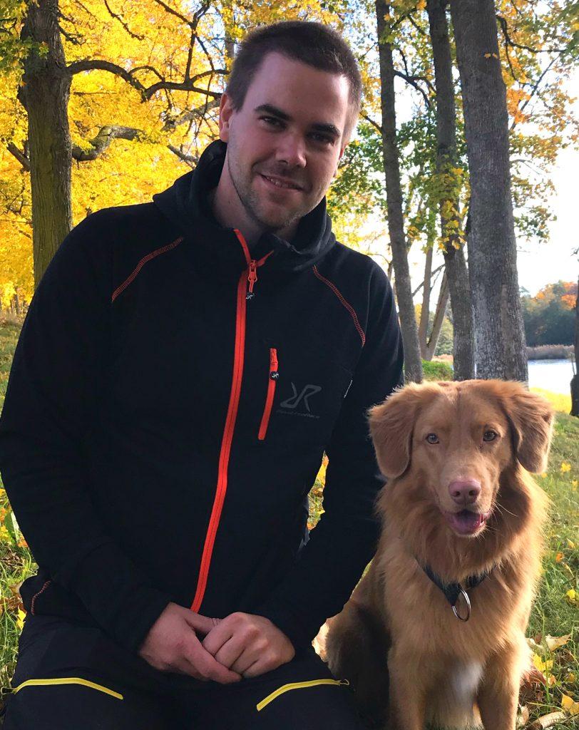 Fredrik Karlsson och Dex