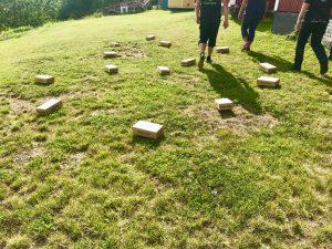 Behållarsöket i Nynäshamn bestod av 14 pizzakartonger